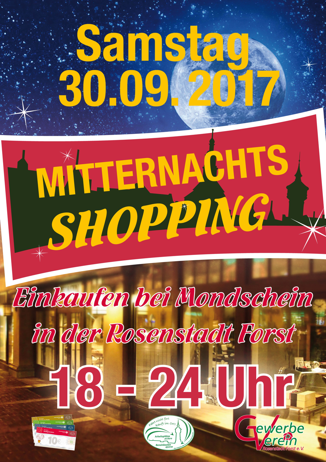 10. Mitternachts-Shopping in Forst